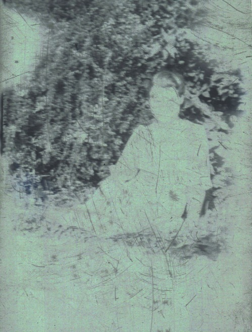 My grandmother - scanned negative